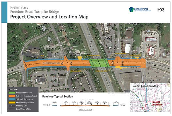 Freedom Road Turnpike Bridge Project