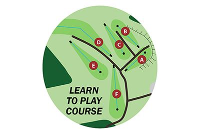 Map of Learn to Play Course at North Boundary Park