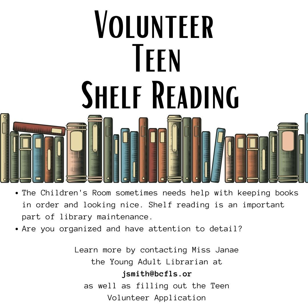 Teen Shelf Reading block